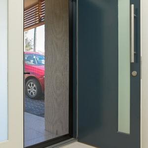 Front Door With Security Screen