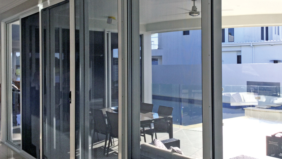 Security Sliding Glass Doors